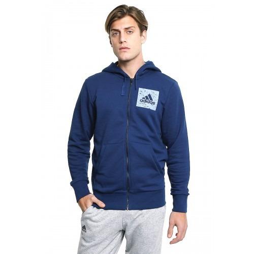 Sudadera adidas Hombre Azul Sid Aop Fz Hood S98793