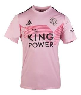 Camisa Leicester City Rosa I E Il 19/20 Oferta Frete Grátis