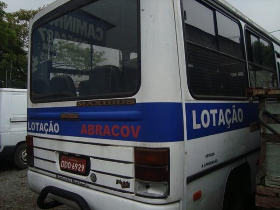 Micro Ônibus Agrale Maxibus 2001 Motor Mwm Turbo