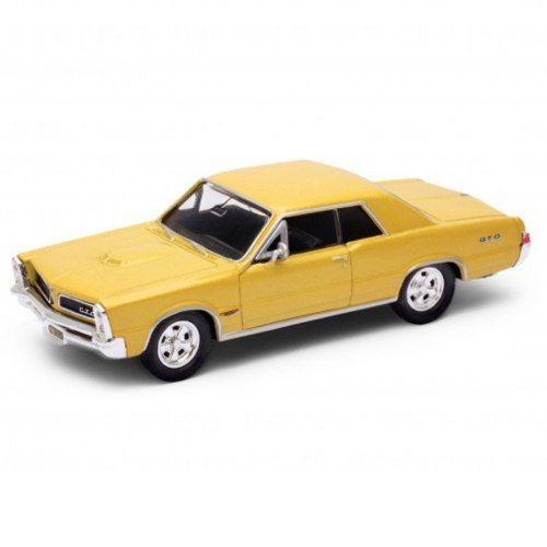 Miniatura Coleção Chevrolet Pontiac Gto 1965 Escala 1/34