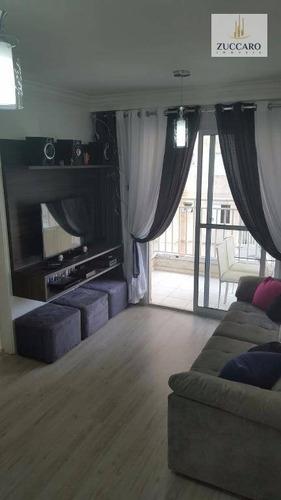 Apartamento No Condomínio Premium Guarulhos, Macedo , 60m², 2 Dormitórios, 1 Suíte, 1 Vaga, Mobiliado. - Ap6582