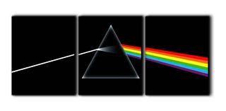 Música Dark Side Pink Floyd Cuadro Decorativo 120x50