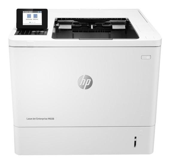 Impressora Hp Laserjet Enterprise M608dn 100v - 127v Branca