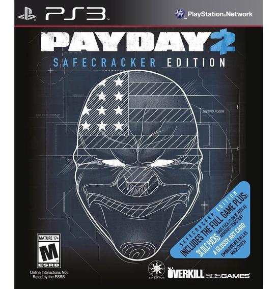 Payday 2 Safecracker Edition - Ps3 - Mídia Física