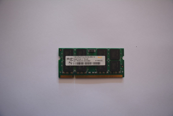 Memoria Ram Notebook Sodimm 1gb Ddr2 Pc2-5300 667mhz