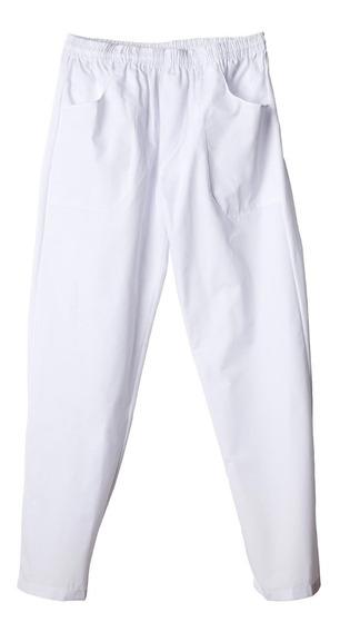 Pantalon Nautico Blanco Frigorificos Panaderias Xxl/xxxl