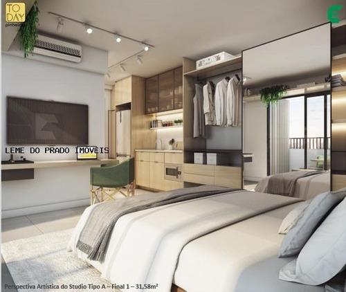 Apartamento 1 Dormitório Para Venda Em São Paulo, Pinheiros, 1 Dormitório, 1 Banheiro - Lpf243_2-1155250