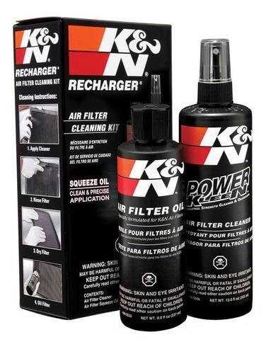 Imagem 1 de 10 de Kit Limpeza Manutenção Filtro De Ar K&n Squeeze Oil 99-5050