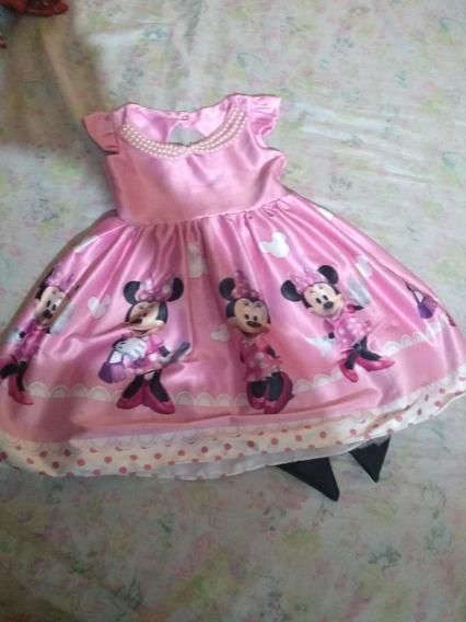 Vestido Luxo Minnie