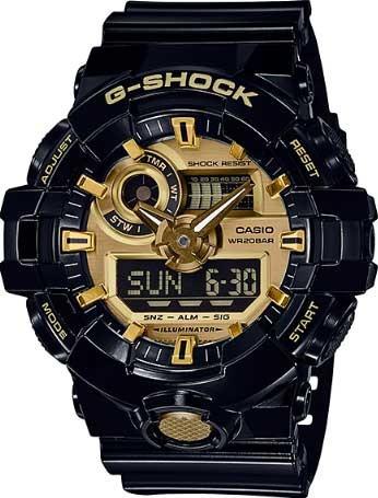 Relógio Casio G-shock Ga-710gb-1adr
