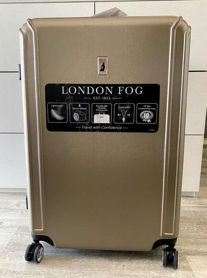 Valija Grande Rigida Expansible Giro 360 8 Ruedas London Fog