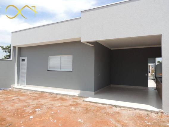 Casa Com 3 Dormitórios À Venda, 220 M² - Condomínio Campos Do Conde Ii - Paulínia/sp - Ca1830