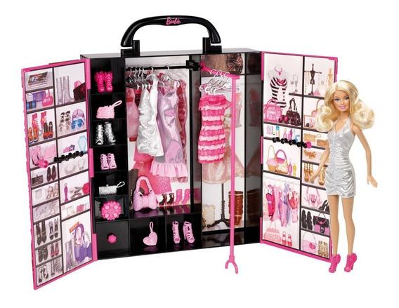 Closet, Armario Y Accesorio Barbie