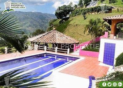 Casa Finca Amoblada En Girardota Cód: 4199