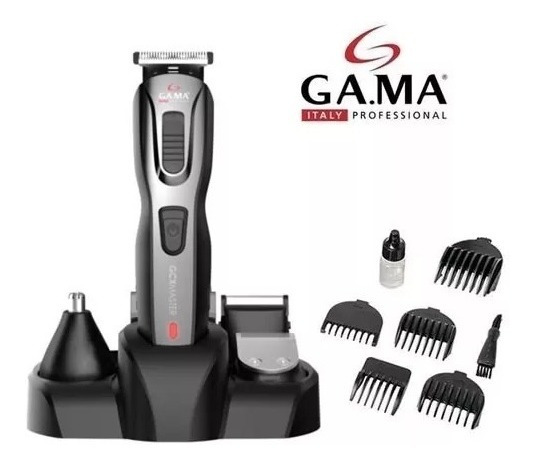 Máquina Cortador De Cabelo Barba E Pelos 9 Em 1 Gama Gcx