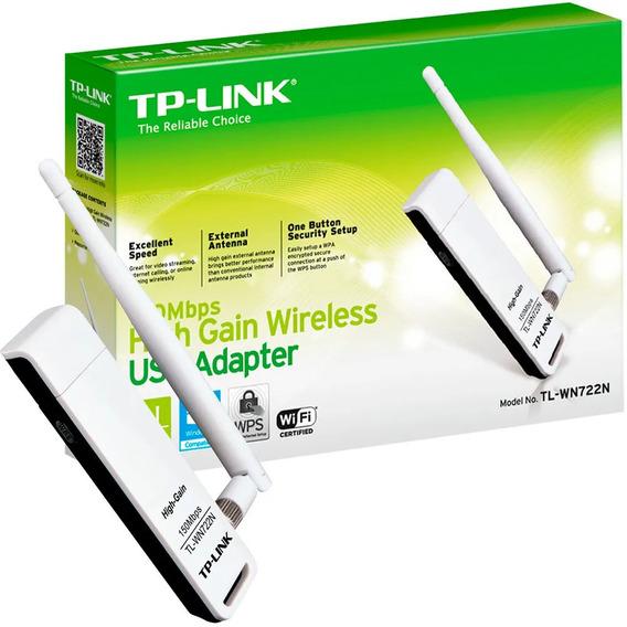 Adaptador Usb Wireless Tp-link Tl-wn722nc Usb Novo
