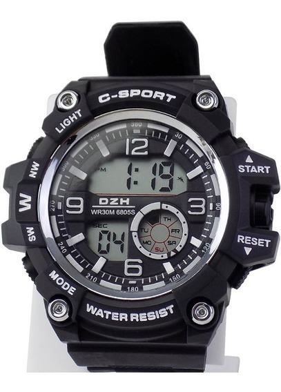 Relógios Masculino Digital Borracha Original Prova D