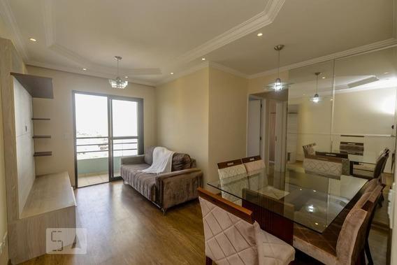 Apartamento No 7º Andar Mobiliado Com 3 Dormitórios E 1 Garagem - Id: 892984666 - 284666