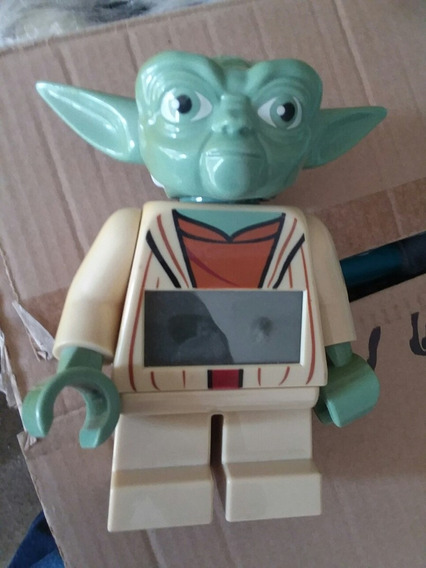 Star Wars Yoda Lego Reloj Despertador