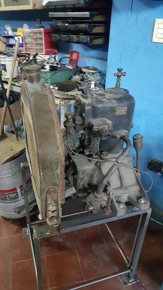Motor Peugeot 1907 Modelo Dk Con Su Radiador