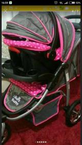 Carrinho De Bebê Três Rodas De Luxo Passeio Marca Baby Happy