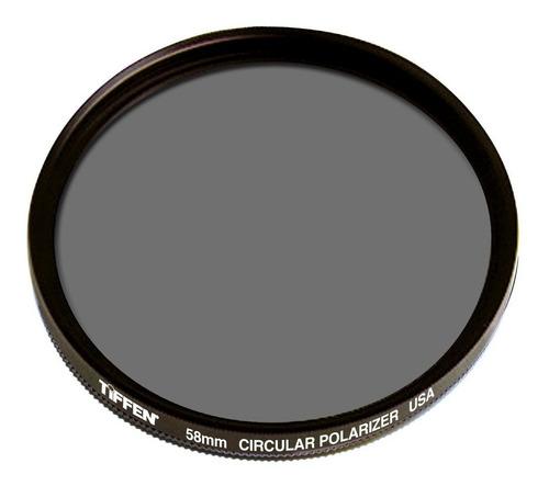 Filtro Polarizador Circular 55mm Tiffen Nikon D3100 D5100