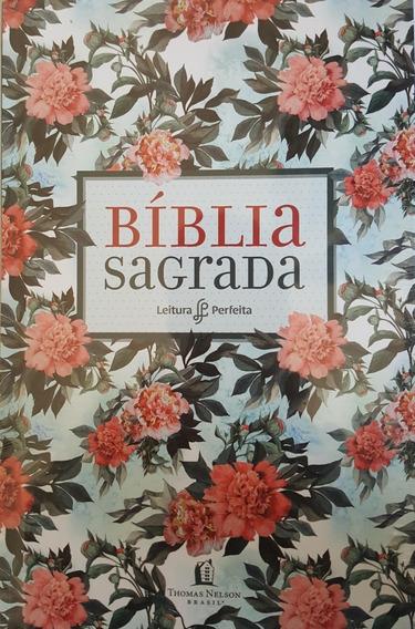 Bíblia Sagrada Leitura Perfeita Livro Capa Dura