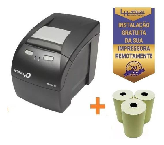 Impressora Para Nfce Bematech Mp 4200 Guilhotina Usb