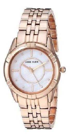 Relógio Analógico Anne Klein 3170-mprg Feminino - Rosa Ouro