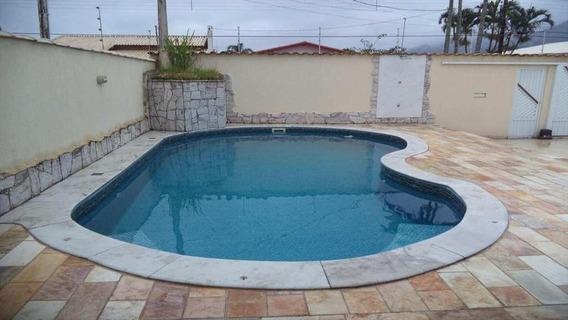 Casa Em Balneário Flórida, Praia Grande/sp De 250m² 4 Quartos À Venda Por R$ 850.000,00 - Ca169121