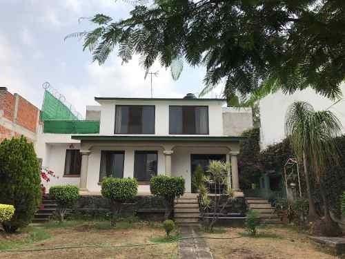 Vista Real Ahuatepec. Hermosa Casa En Privada
