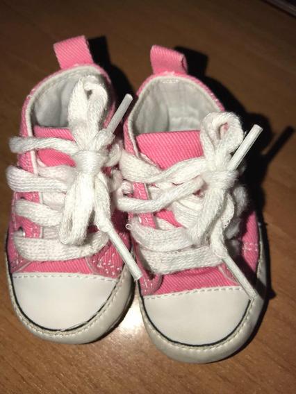 Zapatos Bebé Converse Vietnam Original Rosado Talla 1 Us