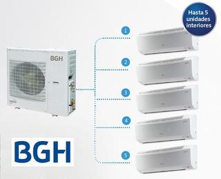 Aire Acondicionado Multisplit Bgh Bambu Inverter 4 X 2300