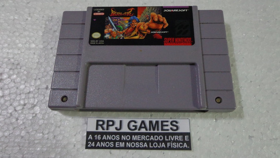 Breath Of Fire Original Salvando P/ Snes Super Nintendo Loja