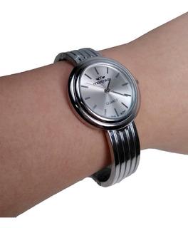 Reloj Montreal Malla Metal Regalo Dia De Mama