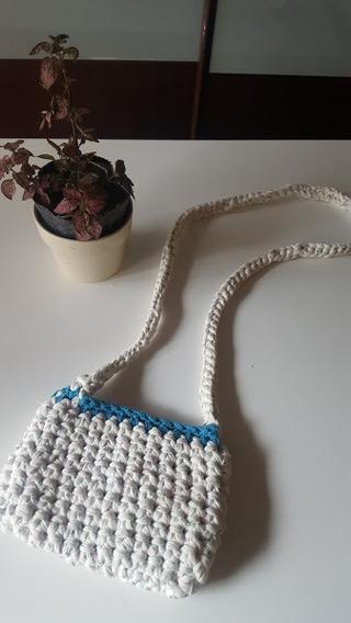 Cartera Bandolera Totora Crochet