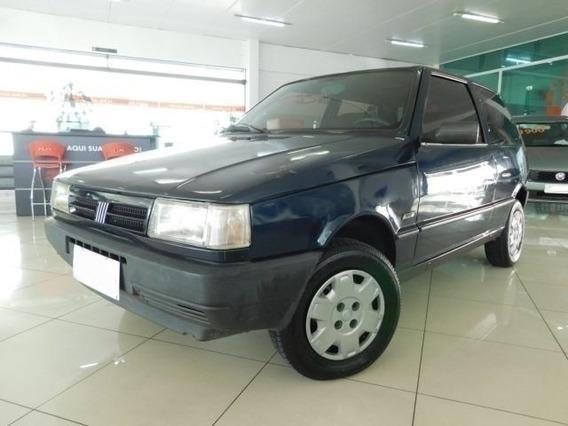Fiat Uno Mille 1.0 Ep Azul 8v Gasolina 2p Manual 1996