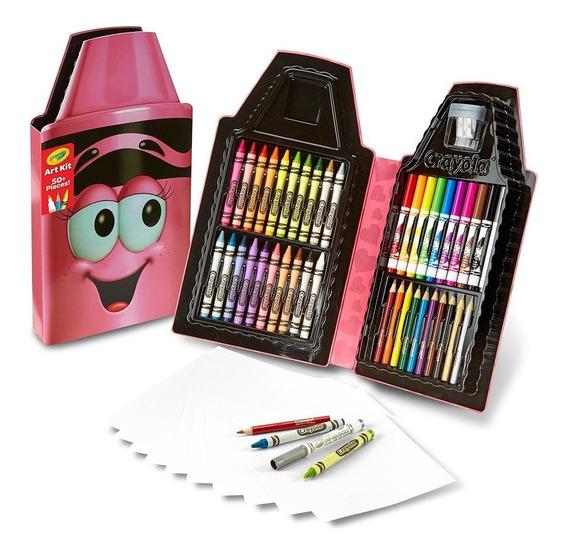 Kit De Pintura Zè Crayola Rosa Ou Azul Ganhe Brinde