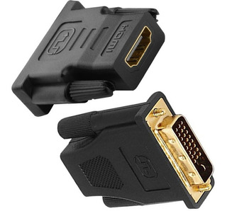 Adaptador Dvi - D Macho 24+1 A Hdmi Hembra Video Pc
