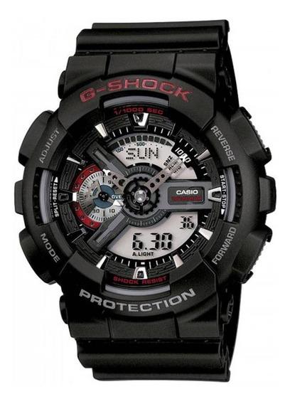 Relógio Casio G-shock Ga-110-1adr Analógico E Digital