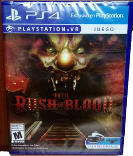 Juego Sellado Psvr Ps4 Until Dawn: Rush Of Blood