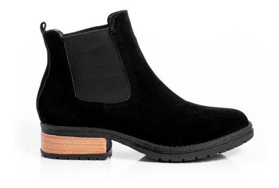 Botas Botitas Zapatos Botinetas Mujer Borcegos Comfort Moda