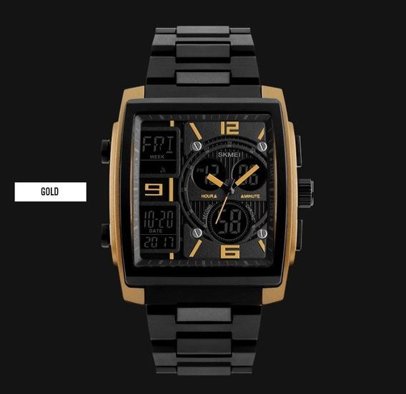 Relógio Skmei 1274 Original Preto À Prova D