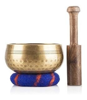 Ohm Store Set De Cuenco Estilo Tibetano Para Yoga Y Meditaci