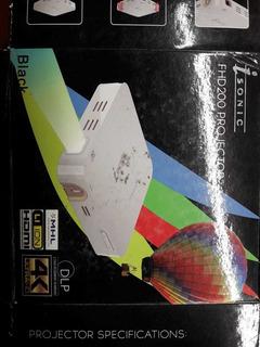 Proyector De Tv Isonic Fhd200
