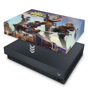 Capa Xbox One X Anti Poeira Fortnite Battle Royale