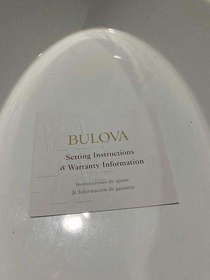 Reloj Bulova 96a120