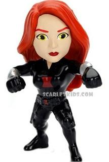 Black Widow Figura Metals 6.5 Cm Die Cast Avengers Jada