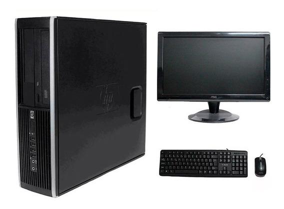 Computador Hp Elite 8100 I5 8gb 120gb Monitor 18 Polegadas