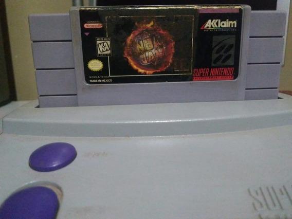 Nba Jam Jogo Super Nintendo Snes Original